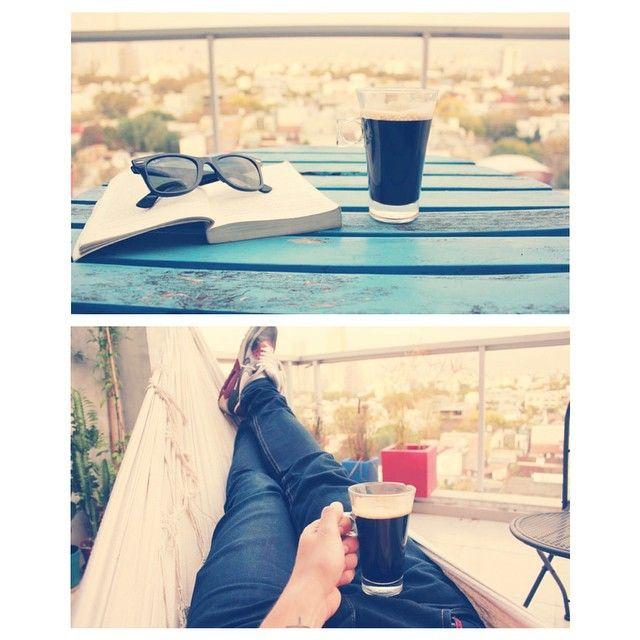 Cafecito en el balcón a la mañana #loqueva #buenavibra