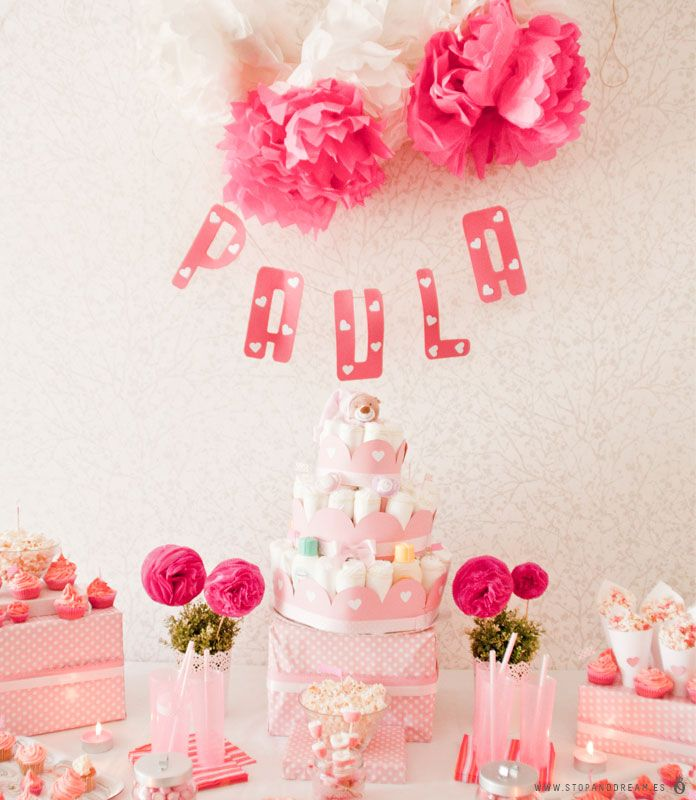 Stop & Dream | Decoración de fiestas · Special parties: El baby shower de Paula