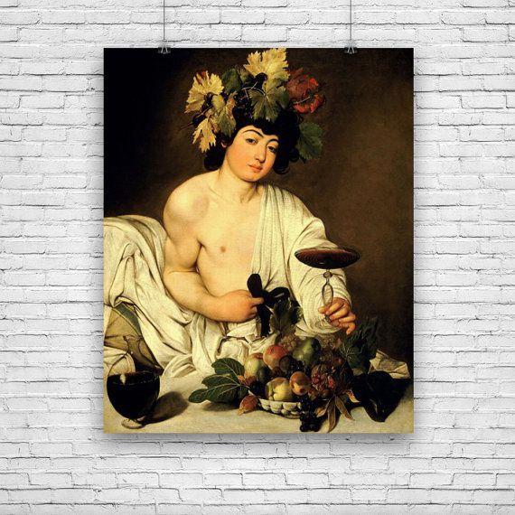 Bacchus by Baroque master Michelangelo Merisi da Caravaggio #fineart #fineartprints #artprints #art #artposters #fineartposters #vintageart #vintageartprints #vintageartposters #vintageprints #vintageposters