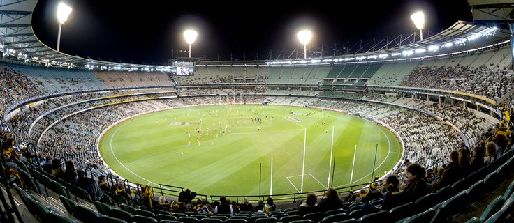 Footy tipping kicks off, once again. Photo credit: The MCG at Night via photopin (license)
