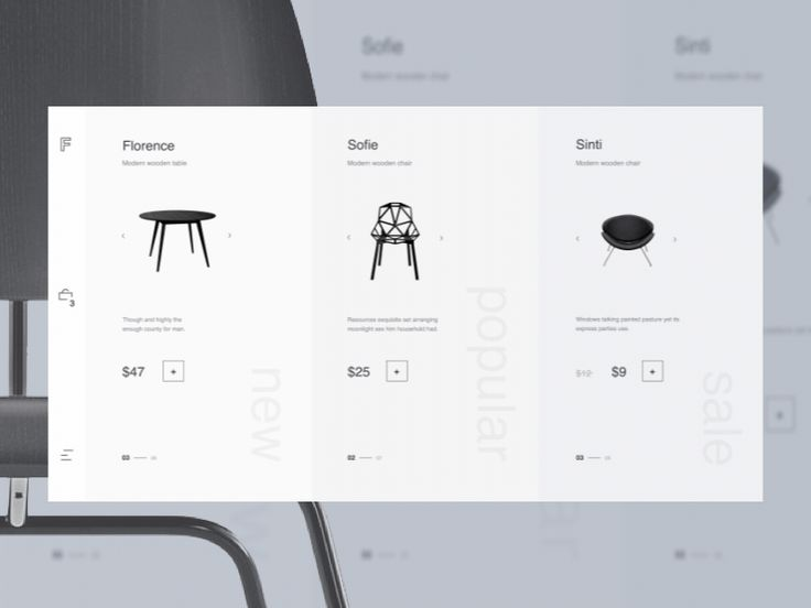 Good day, One of the luxury furniture online stores asked us to create the new vision for their eCommerce website. Will be glad to hear your feedback. We're available for new projects - ron.e@r...