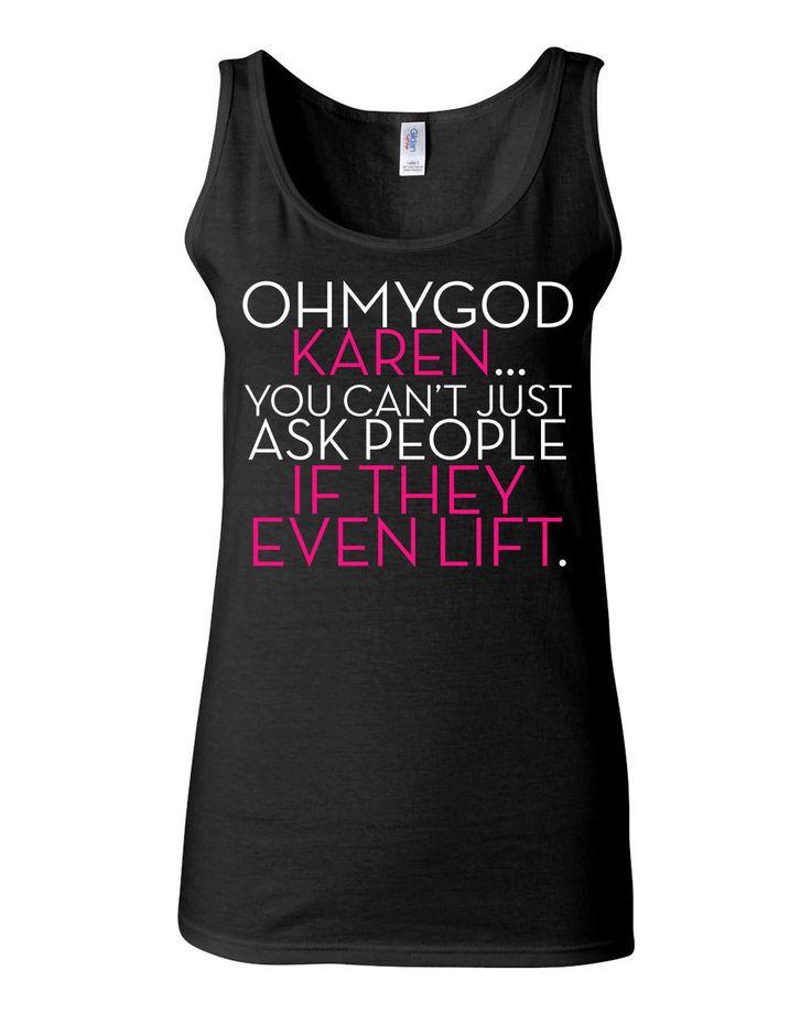 Mean Girls Shirt Crossfit Shirt Ohmygod Karen You by KimFitFab