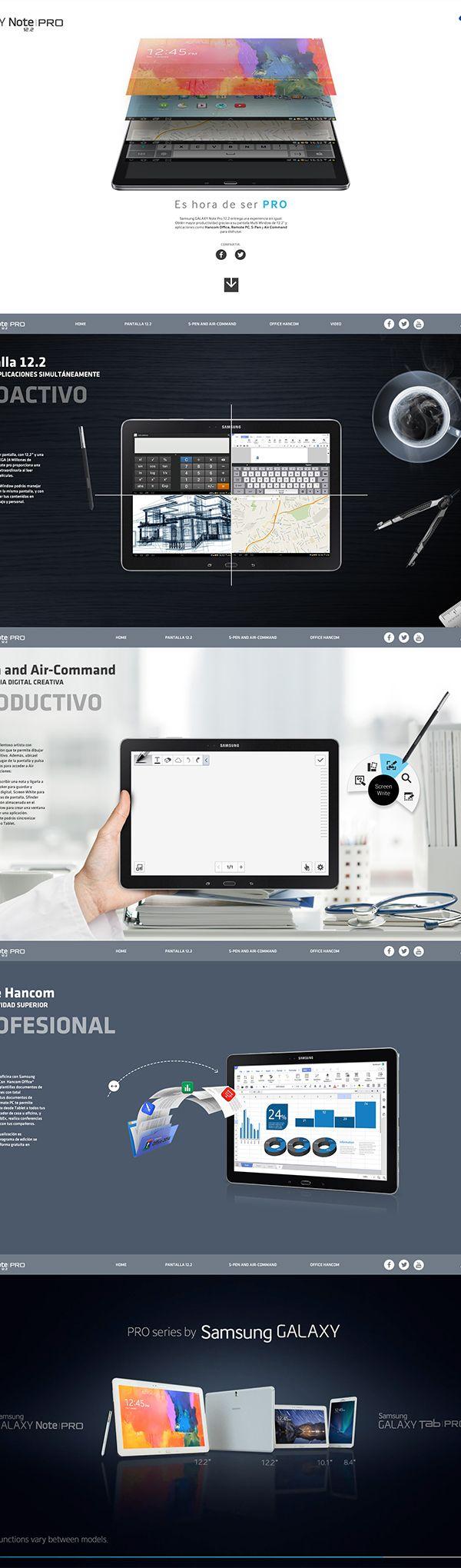 Samsung Galaxy Note Pro by Roberto Uribe. http://bit.ly/1BufrDd