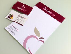 Modelo Pronto Nutri11 - Modelo de cartão de visita para nutricionistas - Modelo de Receituário para nutricionistas