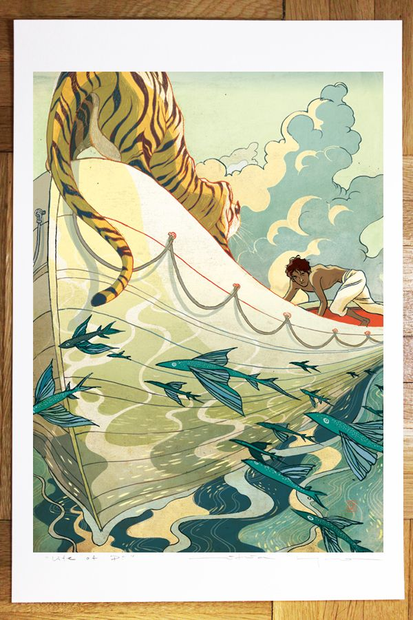 "Victo Ngai, Photos of ""Jack and Queen"" and "" Life of Pi"" ..."