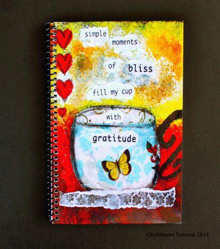 Simple Moments of Bliss... - Kathleen Tennant Mixed Media Art