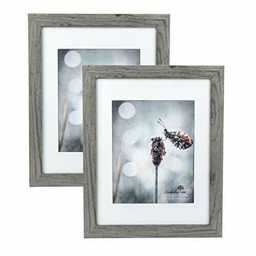 Scholartree Wooden Grey 11x14 Picture Frame 2 Set In 1 Pack Or 11x14 Frame In 2020 11x14 Picture Frame 8x10 Picture Frames Picture Frame Sets