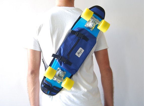 Skateboard Bag backpack 22 inch Penny board Skate by skatehome