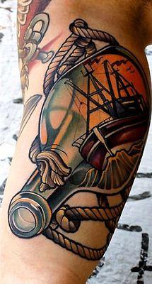 Tattoo done byMarco Schmidgunst.      pristine.