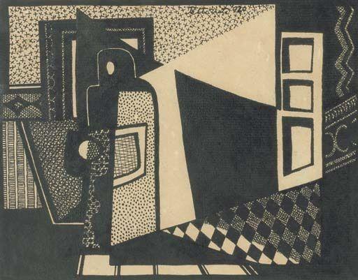 Composición (1920)  Emilio Pettoruti