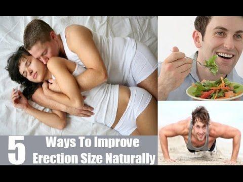 5 Ways To Improve Erection Size Naturally