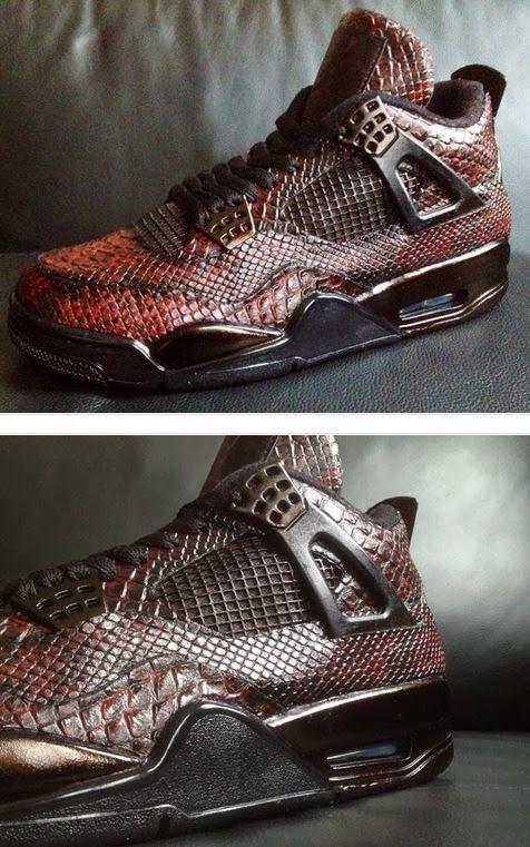UK sale Men Nike Air Jordan 11 Retro Schlangenhautblack Red Shoes