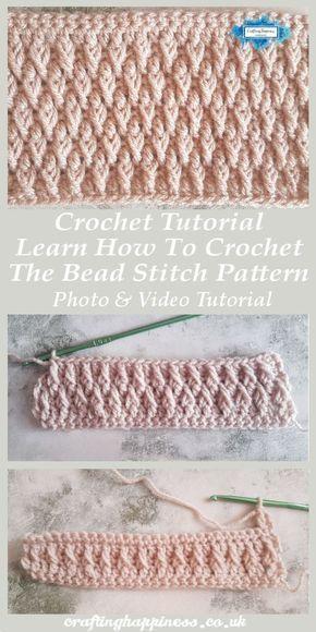 Crochet Tutorial: Learn How To Crochet The Alpine Stitch Pattern Photo & Video Tutorial