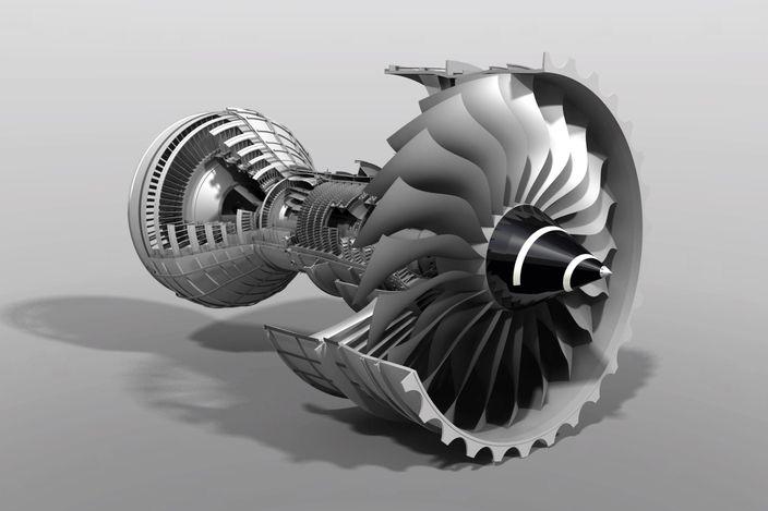 Triple-Spool High Bypass Turbofan (Rolls-Royce Trent 1000)