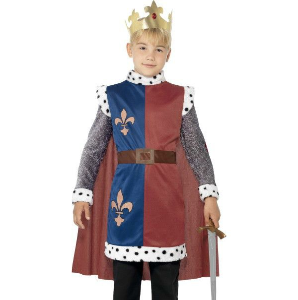 Let's Party With Balloons - Smiffy's Kids King Arthur Costume, $28.00 (http://www.letspartywithballoons.com.au/smiffys-kids-king-arthur-costume/)
