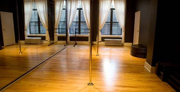 Pole dance studio needed in new home