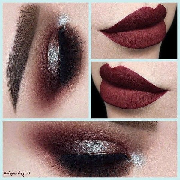 "☠ X†iNA ? PronouncedAsDepesh on Instagram: ""? Solstice ? Lid -... ❤ liked on Polyvore featuring beauty products, makeup, eye makeup, eyeshadow, eyes, lips, brown eye makeup, brown eyeshadow and brown eye shadow"