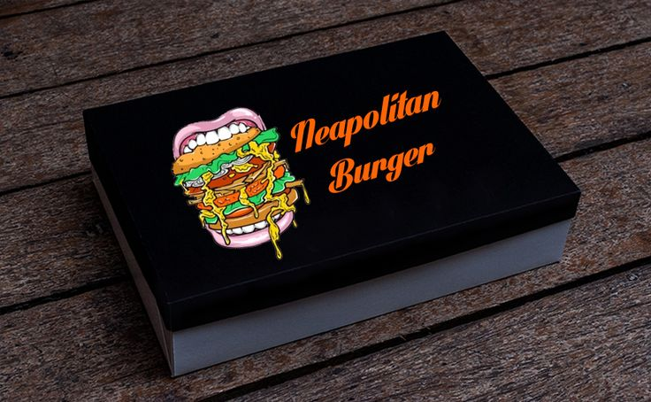Food Box! Esempio di #personalizzazione #scatola alimentare #dmprint #foodbox #eat #lovefood #packaging #pack #burger