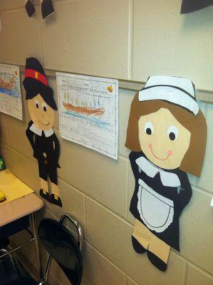 Pilgrim craft and free Mayflower writing prompt!