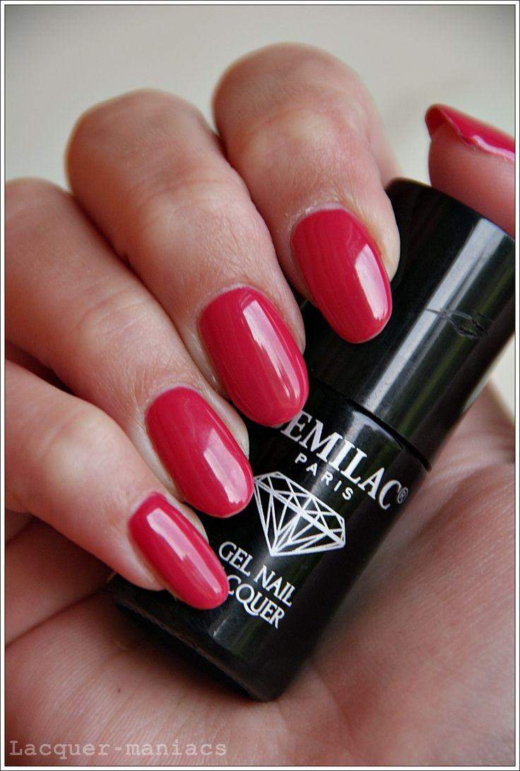 Lacquer maniacs blog - nail. beauty. lifestyle.: Lakiery hybrydowe Semilac - domowa hybryda + moje wrażenia