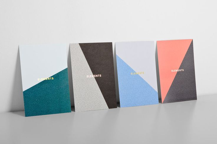 Visual identity and brochure covers for tap and spout range Elements from Brooklyn-based brassware business The Watermark Collection by dn&co.