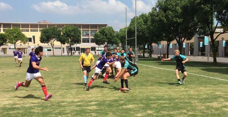 SCIS Hongqiao's Rugby Team @ ACAMIS Tournament (Oct, 2015)