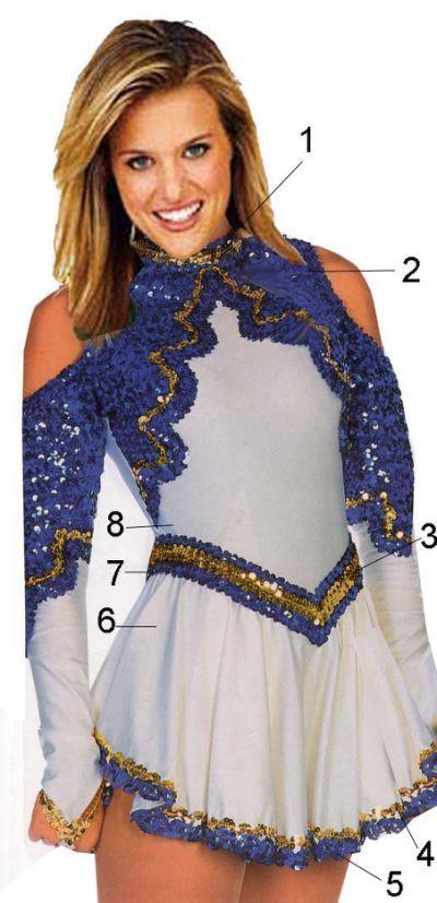 Majorette Uniforms Design Open