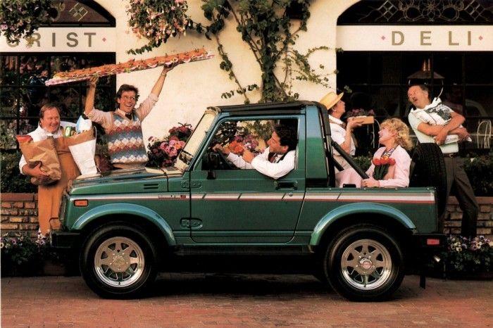 Lost Cars of the 1980s – Suzuki Samurai | Hemmings Daily