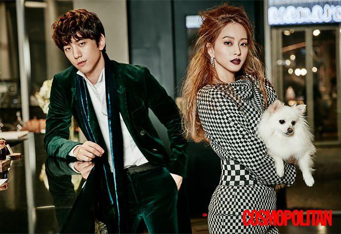 Han Ye Seul & Sung Joon Are a Snazzy Couple With 'Tude for Cosmopolitan Korea