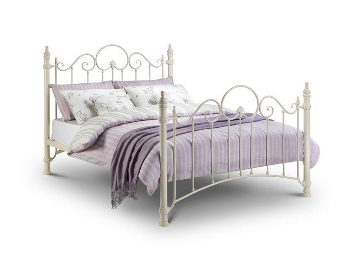 black iron king single bed
