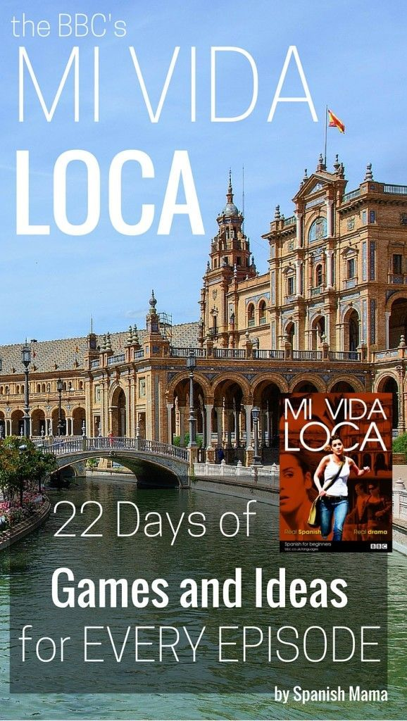 Find fun games and interactive activities to practice concepts taught in the BBC's Mi Vida Loca. Mi Vida Loca is a FREE, interactive online series for beginners in Spanish. Includes a freebie of activity sheets for Episodes 1-5!