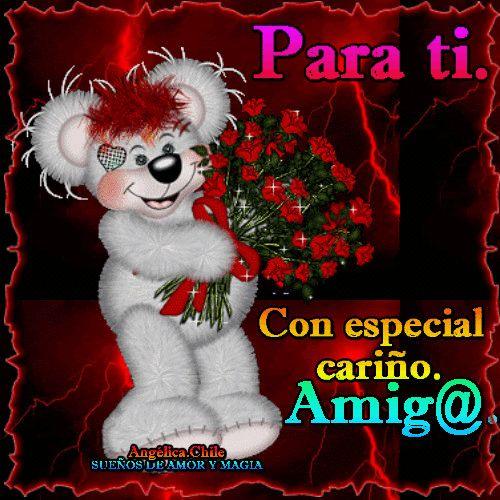 SUEÑOS DE AMOR Y MAGIA: Flores para ti amig@