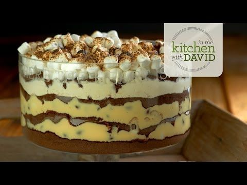 S more's Dirt Cake...........Yes Please! Click on S'more Dirt Cake--It's Like a Campfire in a Bowl! below the video or click on visit website to view recipe.