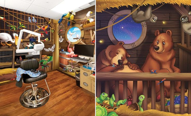 Ark and Animals in Themed Pediatric Dental Office | Imagination Dental Solutions