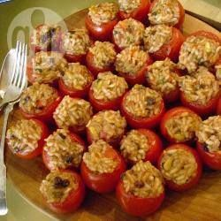 Foto recept: Turkse gevulde tomaten