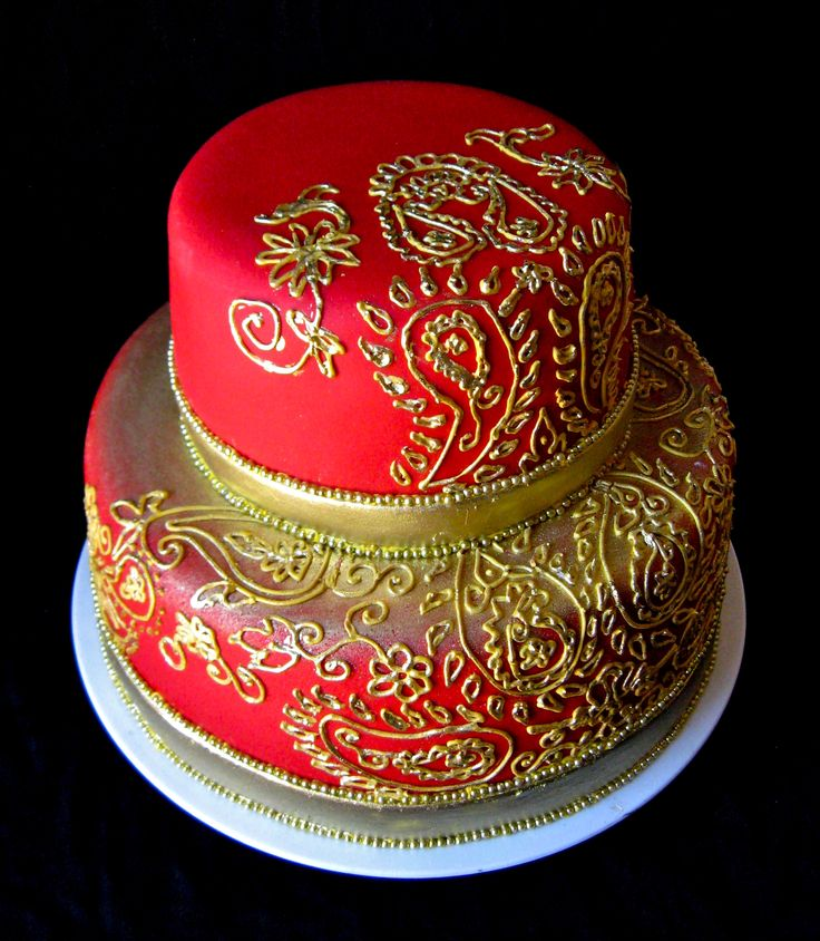 Indian Inspired: Indian Cakes, Ideas, Indian Theme, Indian Weddings, Henna Cake, Indian Wedding Cakes, Cakes Decor, Cakes Design, Weddingcak