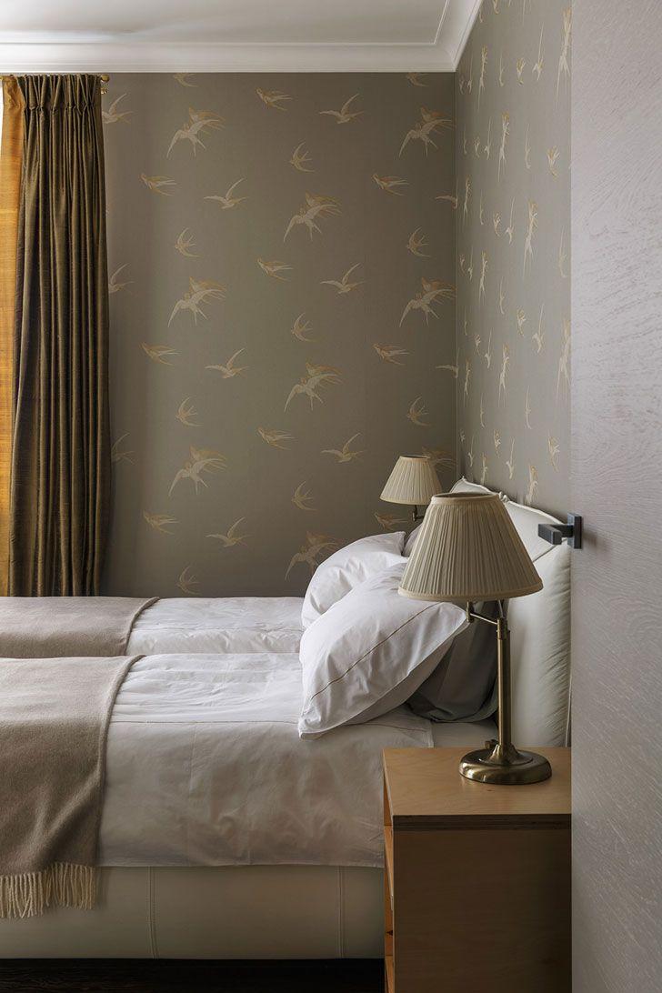 Современная квартира в необычной гамме в Москве | Пуфик - блог о дизайне интерьера