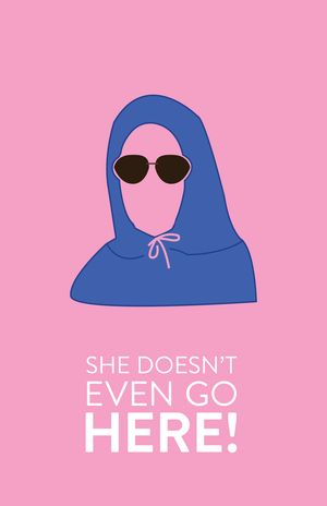 Mean Girls (2004) ~ Movie Quote Poster by Hayley Lane #amusementphile
