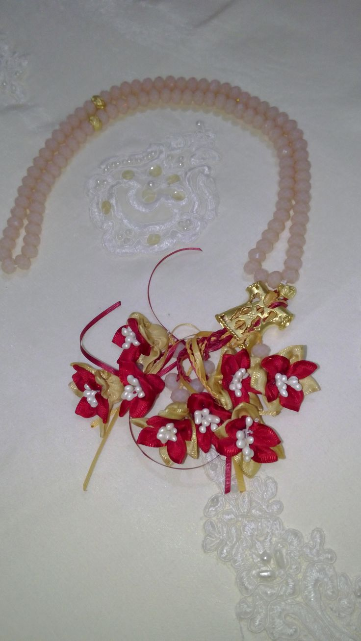Somon Rengi Taş,Kaftan İmame ve Kırmızı renk çiçek kombini. #tesbih #tasarım #moda #kadın #namaz #aksesuar #hediyelik