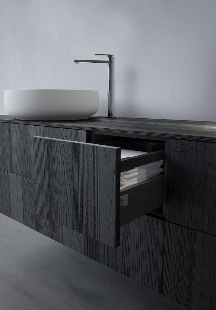 Współczesna łazienka / drewniane - SENSE 04 - 2017 - IDEAGROUP