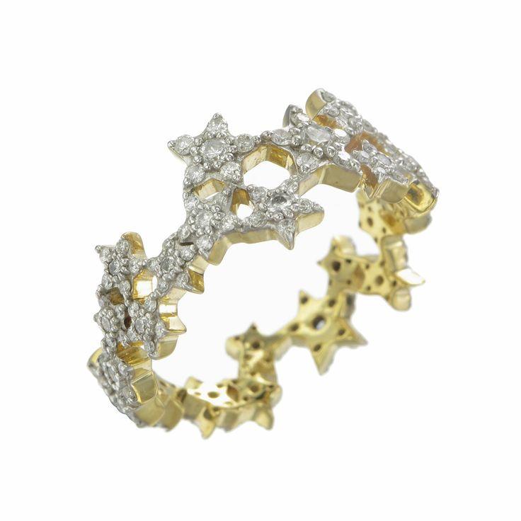 Milky Way Diamond Ring by Zoe and Morgan $3675 NZD