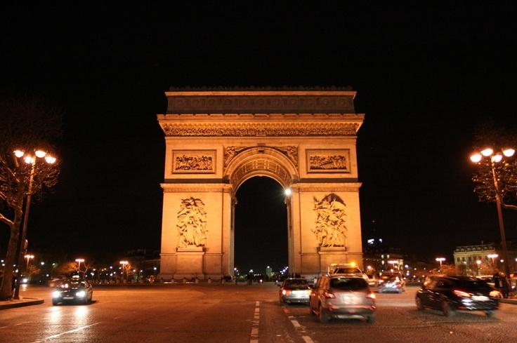Arc de Triomphe. Paris - France.