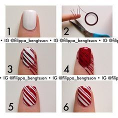 Nice Easy Christmas Nail Designs To Do At Home   Google Search.