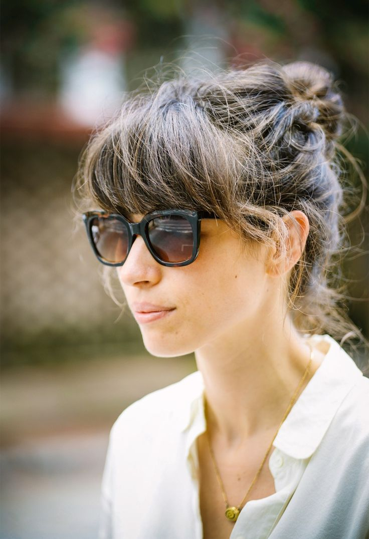 18 best Straight across bangs images on Pinterest