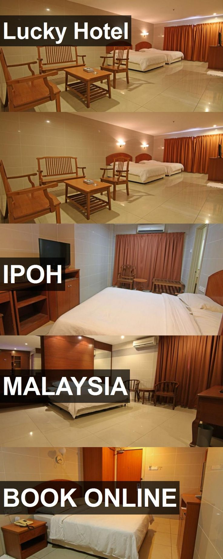 Lucky Hotel in Ipoh, Malaysia. For more information, photos, reviews and best prices please follow the link. #Malaysia #Ipoh #travel #vacation #hotel