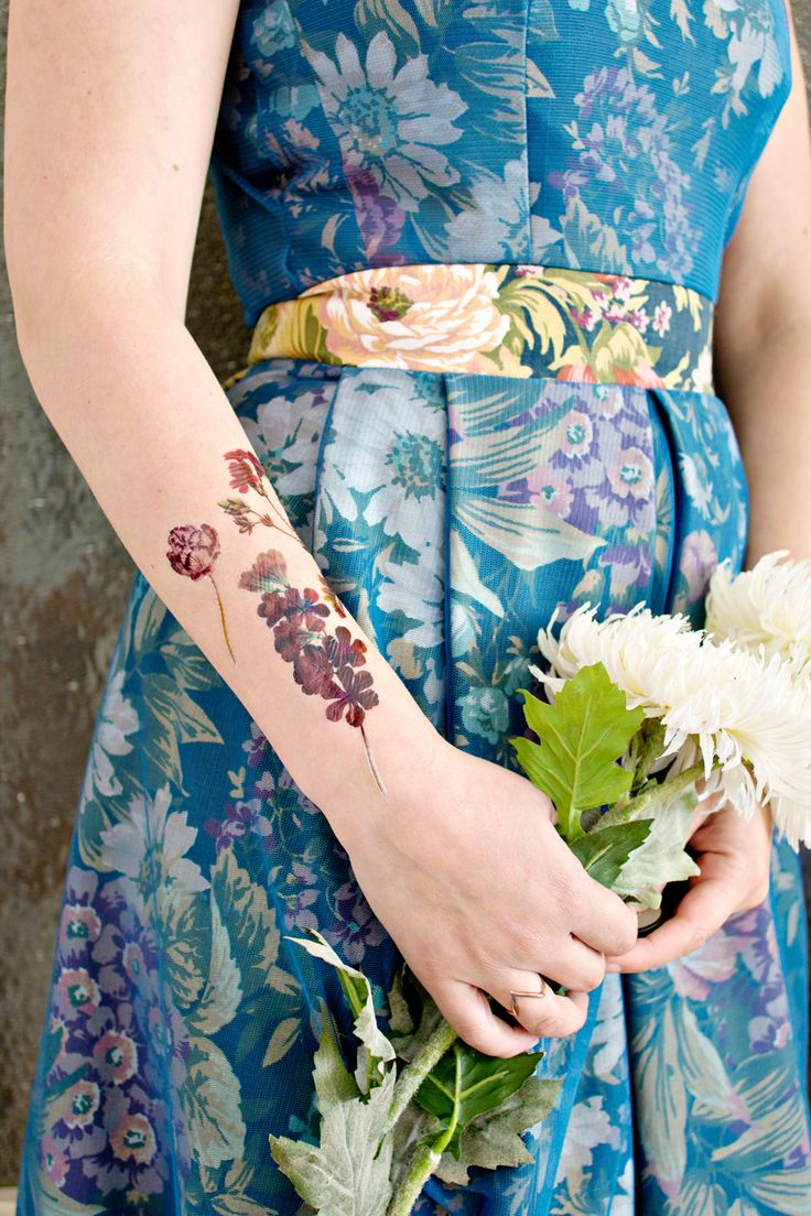 DIY temporary tattoos