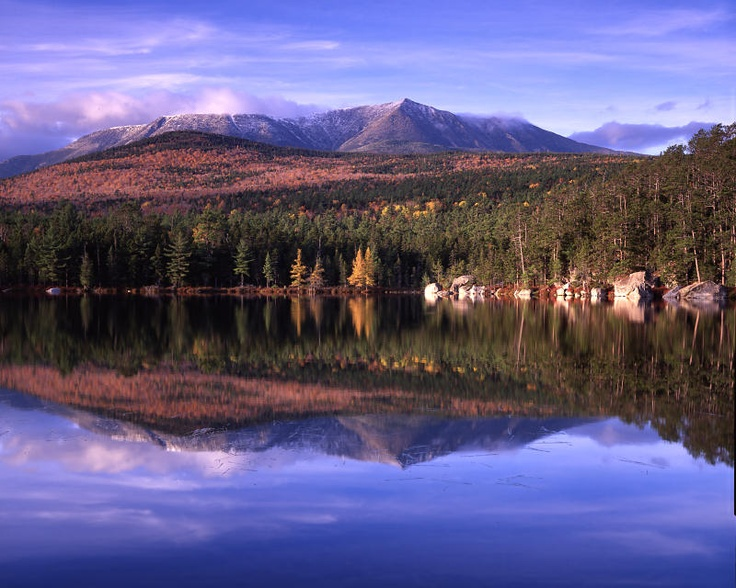 Mt. Katahdin... my most favorite place in Maine.