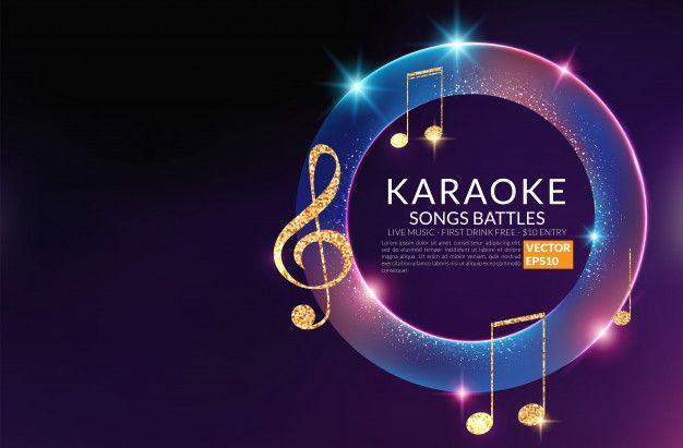 Karaoke Party Invitation Poster Template Karaoke Night Flyer Music Voice Concert Karaoke Party Party Invite Template Karaoke