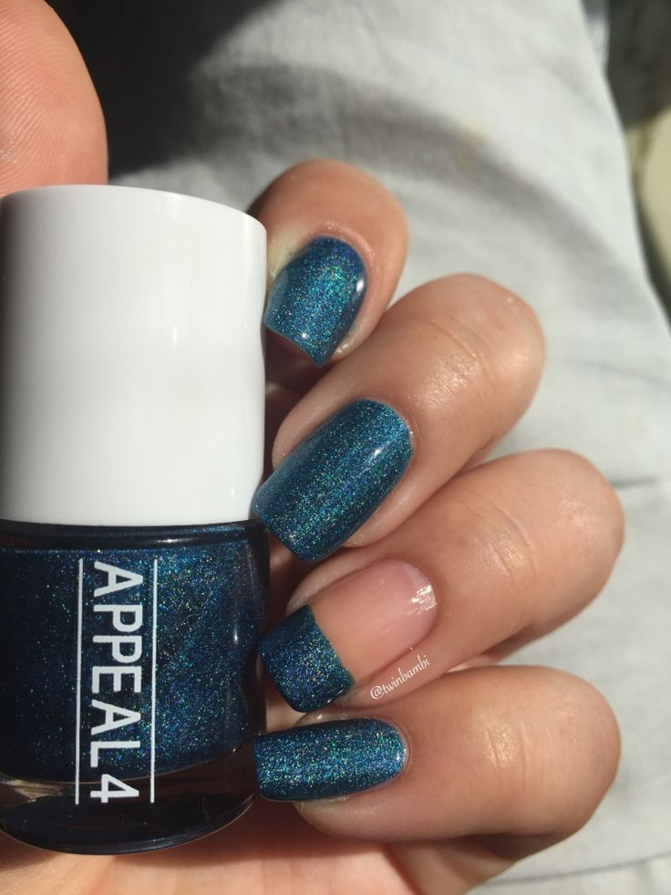 @appeal4 Lapis & Blue Rocks Shattered holo.  Bought from @luxbeauty0253