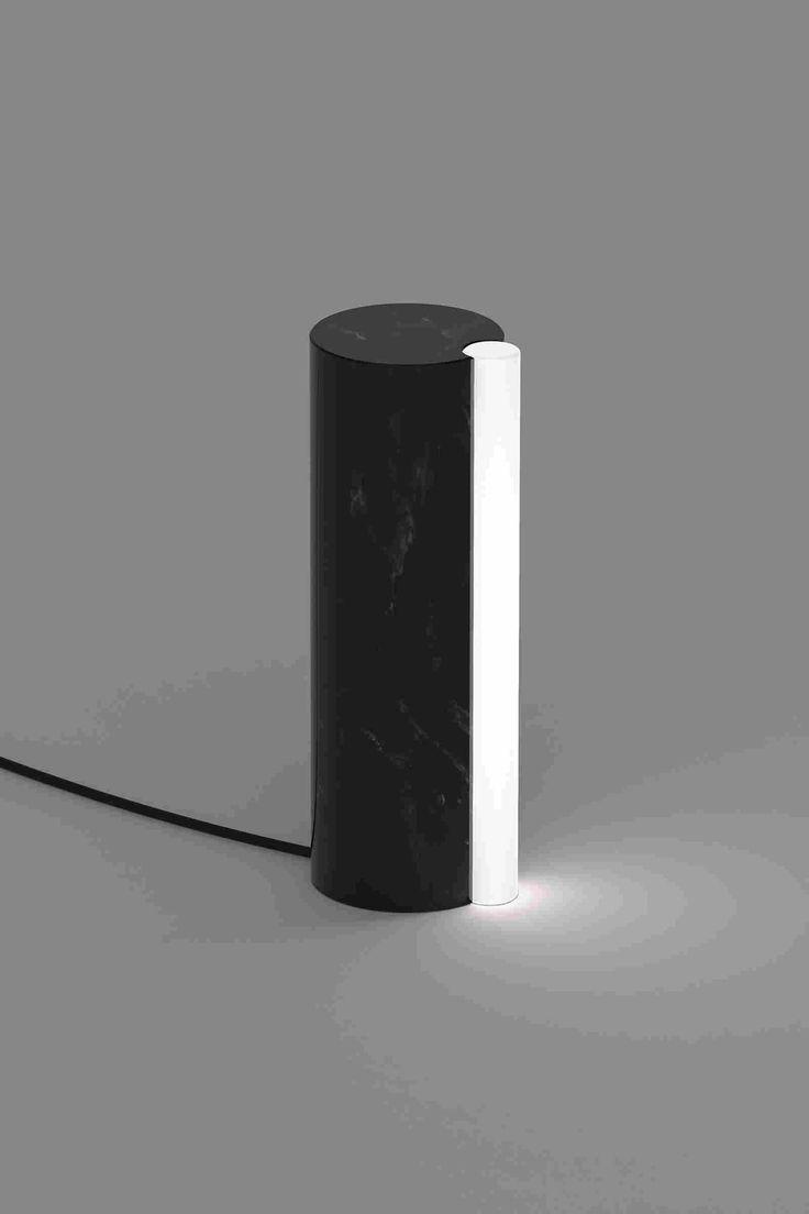 Лаконичный дизайн лампы из мрамора